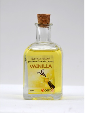 Esencia natural Vainilla 50 ml.