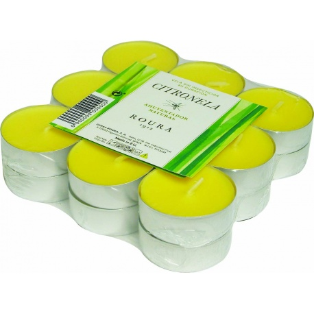 """Citronella candles """"tealight"""" Case of 18 units"""