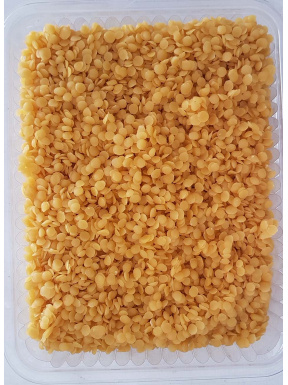 Beeswax on pearls. 1 kg.