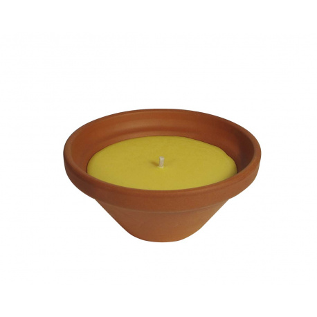 Small terracotta citronella Box: 6 units