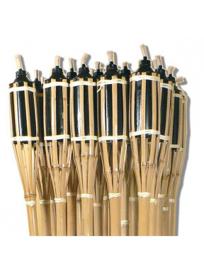 Bamboo Cane Torch 1.20 cm height. Box 12 pcs.