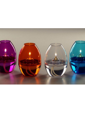 Oil table lamp. 6 units