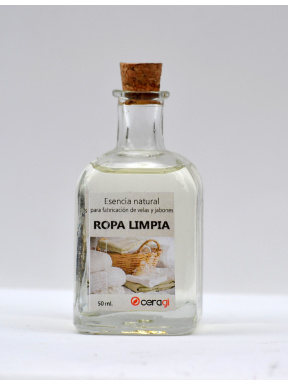 Essència natural sense alcohol Roba neta. 50 ml.