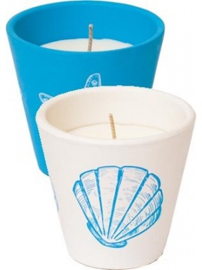 Pot Océano Stop Mosquitoes Candle. Box 6 units - 2 colors