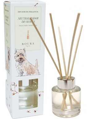 Diffuser Neutralizer Dog Perfume Cotton Flower