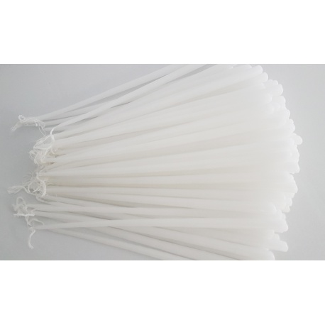 White candles 1kg.