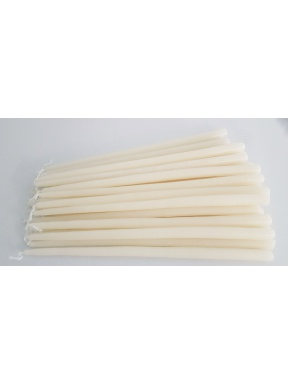 Candeles blanques 1kg.