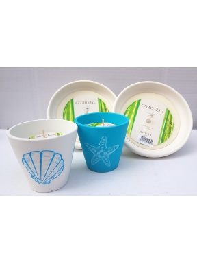 Garden candles Pack citronella The perfect gift for this summer