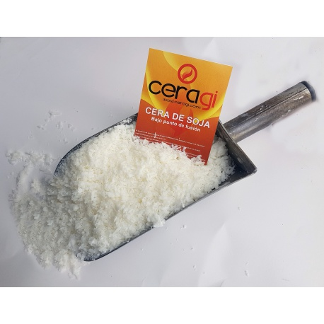 On sale Soy wax low melting point box 15 kg