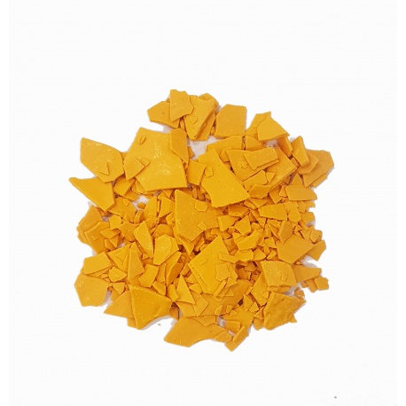 Natural colorant for candles. yellow color. 10 grs.